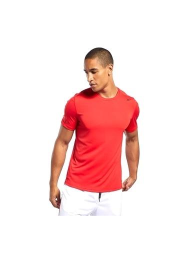 Reebok Workout Ready Polyester Tech T-Shırt Kırmızı
